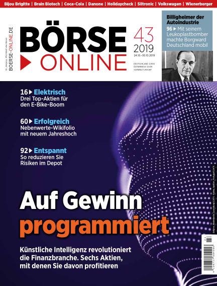 Börse Online October 24, 2019 00:00