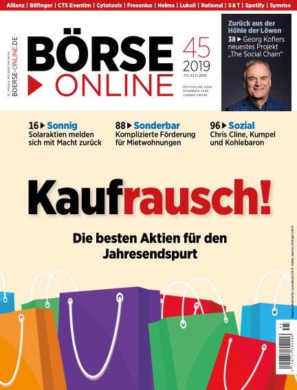Börse Online November 07, 2019 00:00
