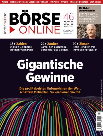 Börse Online November 14, 2019 00:00
