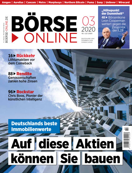 Börse Online January 16, 2020 00:00