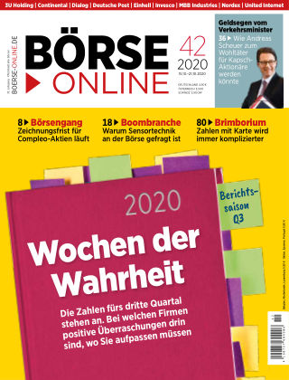 Börse Online 42 2020