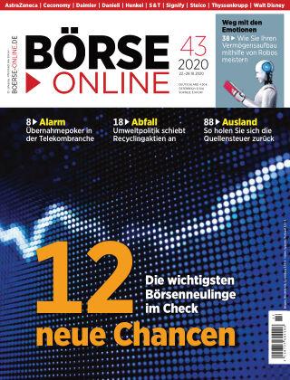 Börse Online 43 2020