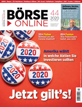 Börse Online 44 2020