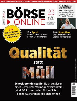 Börse Online 23 2021