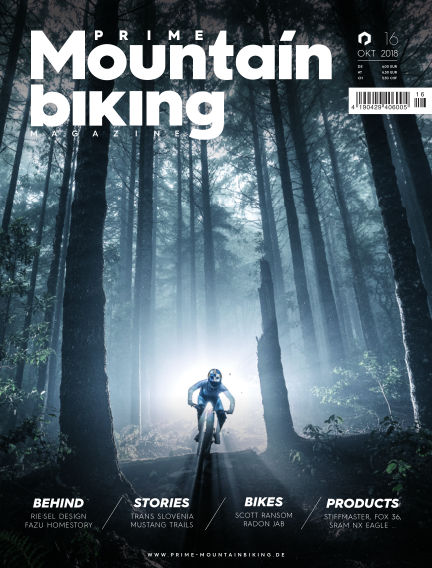 PRIME Mountainbiking Magazine October 12, 2018 00:00