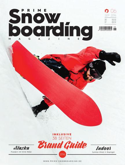 PRIME Snowboarding Magazine September 24, 2016 00:00