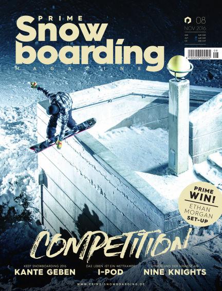 PRIME Snowboarding Magazine November 24, 2016 00:00