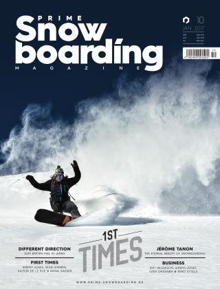 PRIME Snowboarding Magazine 10