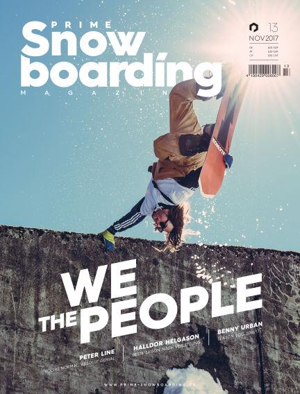 PRIME Snowboarding Magazine November 29, 2017 00:00