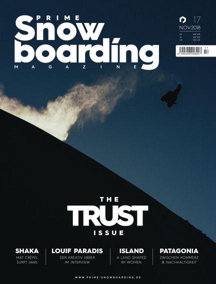 PRIME Snowboarding Magazine December 07, 2018 00:00