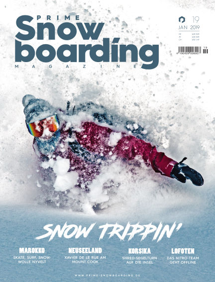 PRIME Snowboarding Magazine January 25, 2019 00:00