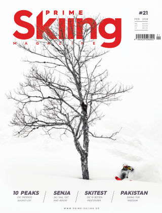 PRIME Skiing Magazine #21 FEB. 2019