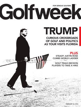 Golfweek  February 22, 2016