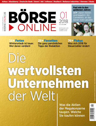Börse Online 01 2018