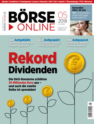 Börse Online 05 2018
