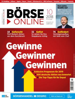 Börse Online 10 2018