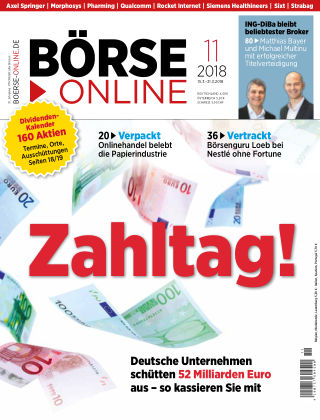 Börse Online 11 2018