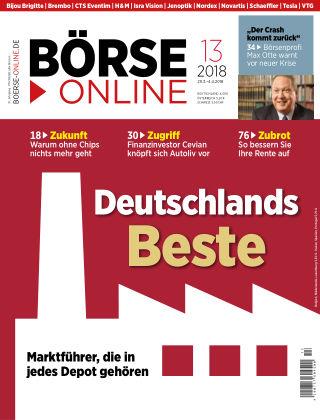 Börse Online 13 2018