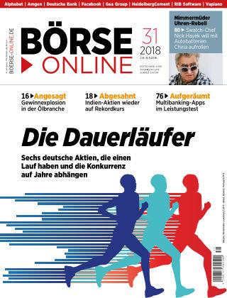Börse Online 31 2018