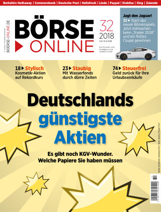 Börse Online 32 2018