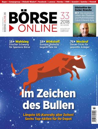 Börse Online 33 2018