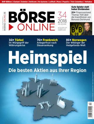 Börse Online 34 2018