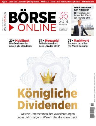 Börse Online 36 2018