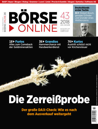Börse Online 43 2018