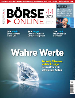 Börse Online 44 2018