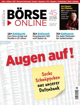 Börse Online 45 2018