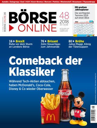 Börse Online 48 2018