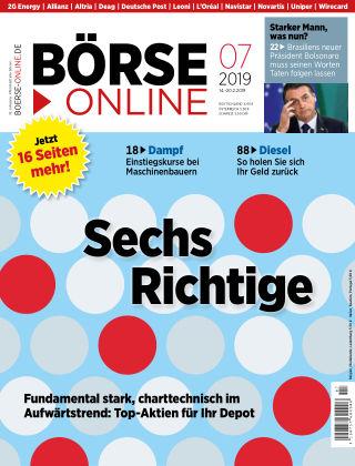Börse Online 07 2019
