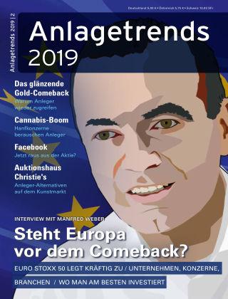 Anlagetrends Frühjahr/Sommer 2019