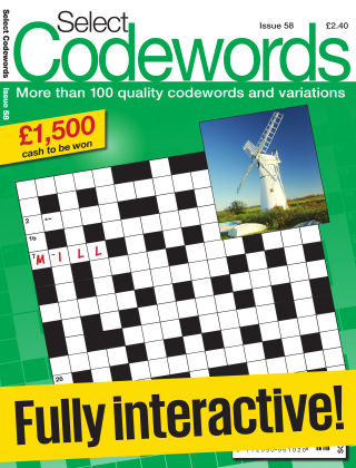Select Codewords Issue 058