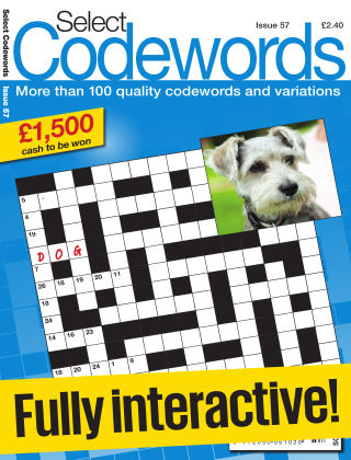 Select Codewords Issue 057