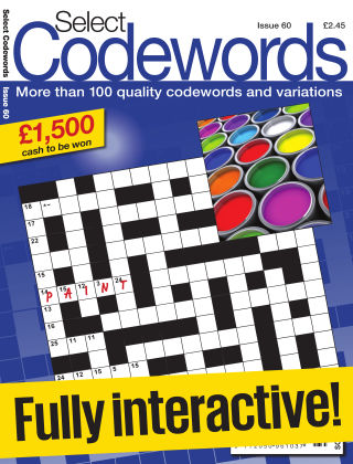 Select Codewords Issue 060