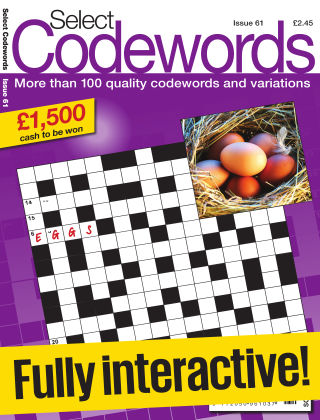 Select Codewords Issue 061