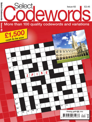 Select Codewords Issue 062