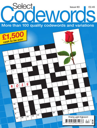 Select Codewords Issue 063