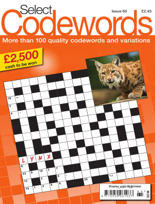 Select Codewords Issue 065