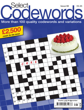 Select Codewords Issue 066
