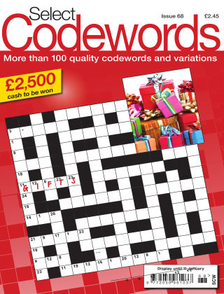 Select Codewords Issue 068