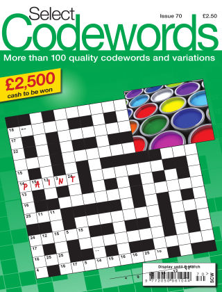 Select Codewords Issue 070