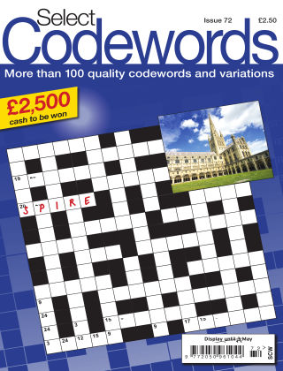 Select Codewords Issue 072