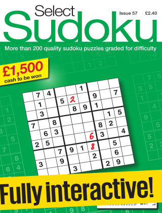 Select Sudoku Issue 057