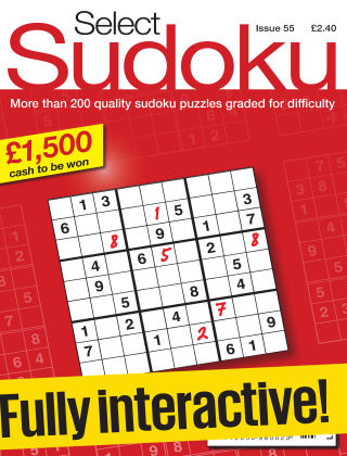 Select Sudoku Issue 055