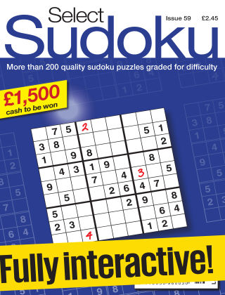 Select Sudoku Issue 059