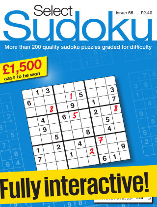 Select Sudoku Issue 056