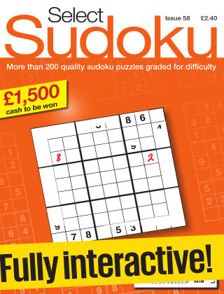 Select Sudoku Issue 058