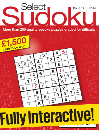 Select Sudoku Issue 061